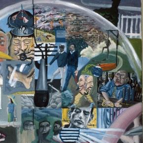 Pinturas de Bryan Charnley, una historia vs laesquizofrenia