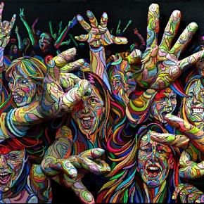 Shaka y su implacable pintura en3D